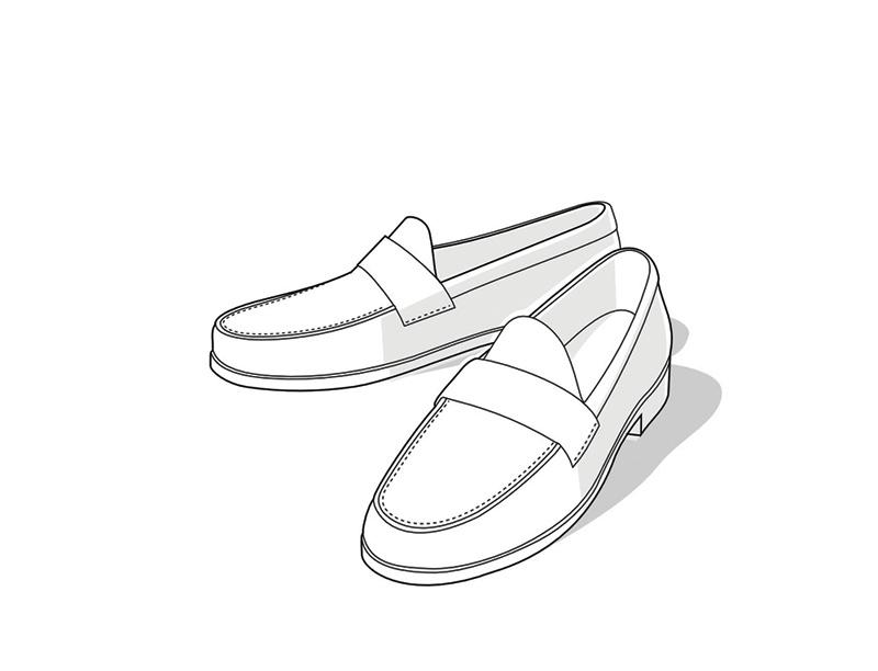 Wygodne, wsuwane, ale zdecydowanie mniej eleganckie od butów sznurowanych. Uszyte są zwykle z miękkich skór i noszone latem do lekkich, sportowych ubrań. Czasami, za przykładem anglosaskim, mokasyny robione są z grubszych skór jako buty całoroczne.