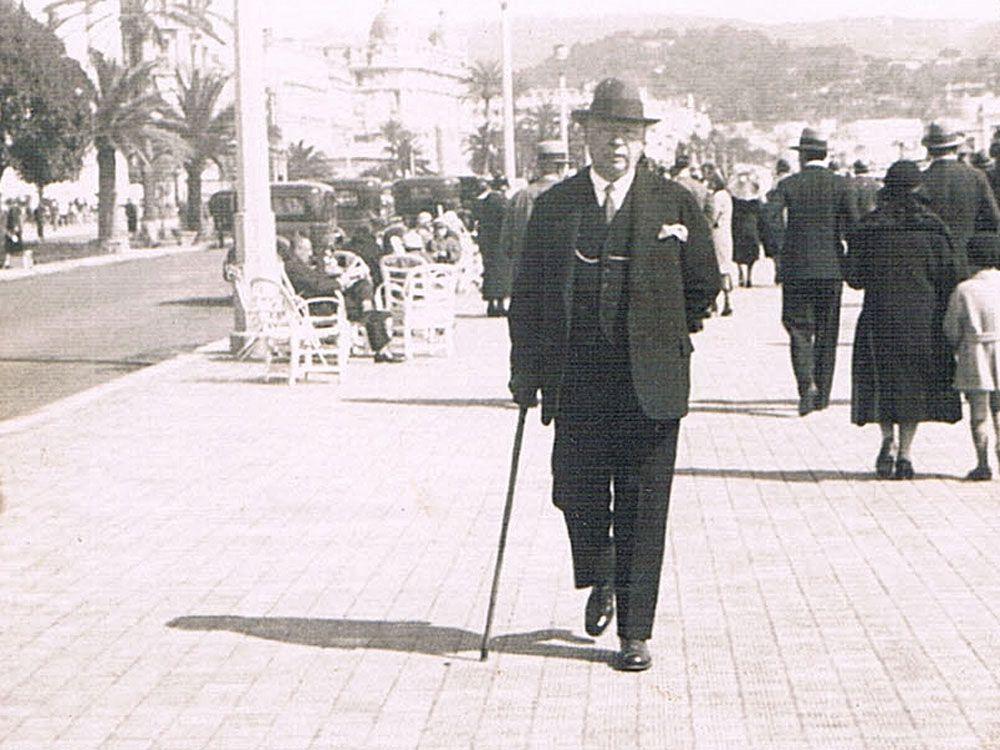 Jan I w Monte Carlo, 1932 r.