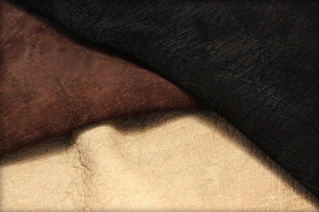 Hippopotamus leather